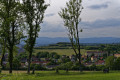 Vue depuis le fort des perches sur la citadele de Belfort