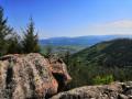 Les rochers du Fallenlapp et du Breitberg sur les hauteurs d'Oberhaslach