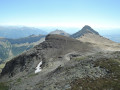 Vue depuis le sommet du pic du vieux Chaillol
