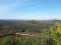 Vue depuis les hauteurs du rocher Bayrischer Windstein