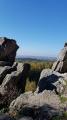 Vue depuis les rochers