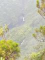 Vue des chutes d'eau de la rivière des marsouins