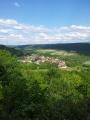 vue des montagnes du Jura