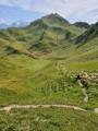 Approcher le Mont Jovet et la Crête des Étroits par le Pas des Brebis