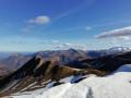 La Crête de Saubajot depuis le Col d'Aran