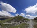 Vue du fort des 3 communes au sommet de l'Authion (2080m)