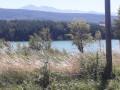 vue du lac au départ
