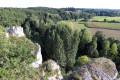 Entre falaises et coteaux de l'Anglin à Mérigny, Rocher de la Dube
