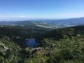 Vue du Lac Vert depuis le GR5