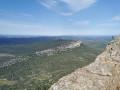 Vue du sommet du Pic Saint Loup