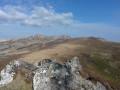 Vue du sommet du Roc de Courlande