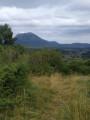Vue du sur le Puy de Dôme du haut du Puy de la Mey