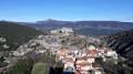 Vue du village de la Vilasse