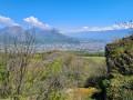 Vue sur Grenoble depuis le relais de la Tour Sans Venin