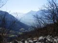 Vue sur l'entrée de la vallée de Grenoble