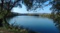 Vue sur l'étang de Salcys
