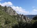 Vue sur La Failladouille et le Portail des Cades