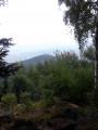 Vue sur la plaine depuis le rocher de la paix d'Udine