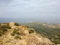 Vue sur la punta Spanu