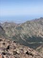 Vue sur la Revelata et Calvi depuis la pointe des Eboulis