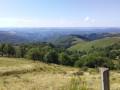 vue sur la vallée d'Olt
