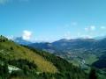 Vue sur la vallée de Gresse