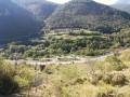 Vue sur la vallée de la Têt après Serdinya