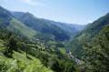 Vue sur la Vallée d'Aspe