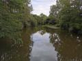 Vue sur la Vilaine depuis la passerelle (point n° 6)