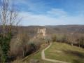 Château-Rocher depuis Saint-Rémy-de-Blot