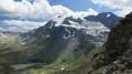 Vue sur le glacier de Gébroulaz