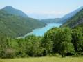 Vue sur le Lac de Notre-Dame de Commiers