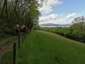 Les Granges, le Villard depuis Barbizet