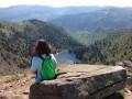 Vue sur le Markstein et le lac de Schiessrothried