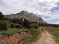 Vue sur le massif de Sainte Victoire