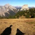 Vue sur le Mont Aiguille depuis la tête chevalière