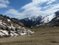Vue sur le mont Pecloz-après le col d'Orgeval
