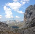 Le Mont Charvet depuis le Grand-Bornand