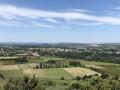 Vue sur le Rhône et ses alentours