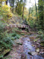 Vue sur le Roulave depuis le pont qui le traverse