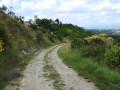 Vue sur le village d'Hounoux en partant sur le GR