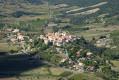 Vue sur le village de Cucugnan