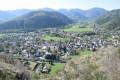 Vue sur le village de Fellering