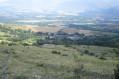 Vue sur le village de Guils de Cerdanya
