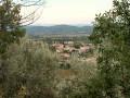 Vue sur le village de Montmirat