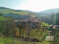 Vue sur le village de Sainte-Croix-en-Jarez