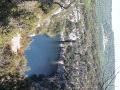 Vue sur les falaises et Montpezat