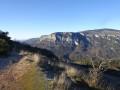 Vue sur les Gorges du Loup au loin