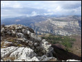 Vue sur les Gorges du Loup du Pic des Courmettes
