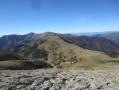 Vue sur les montagnes depuis le ravin de Ganiayes